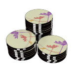 template set of poker chips