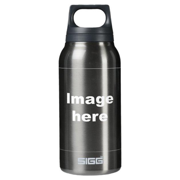 template sigg dark water bottle   Zazzle
