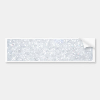 template,silver,glitter,glam,faux,happy holidays, bumper sticker
