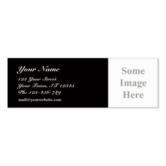 template Skinny Business Card