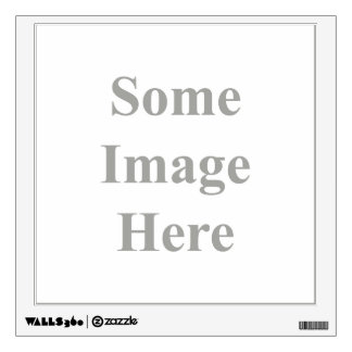 template square Wall Decal