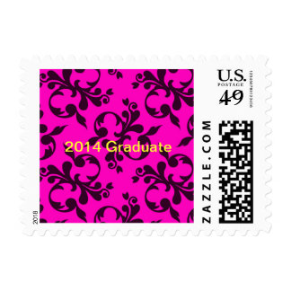 Template text postage stamps