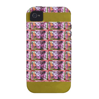 TEMPLATE Vertical Art Vibe iPhone 4 Cover