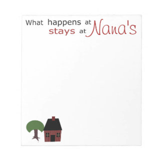 Template: What Happens at ...Stays at.... Memo Pads