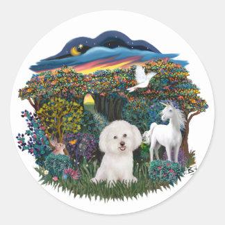 Template - Woodland Magic - Round Sticker