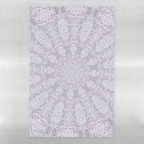 TemplateF Lace Wedding Dress Magnetic Dry Erase Sheet