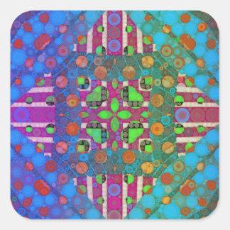 Templates Square Sticker