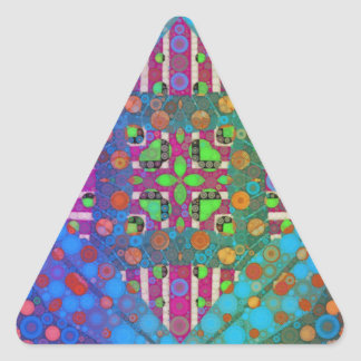 Templates Triangle Stickers