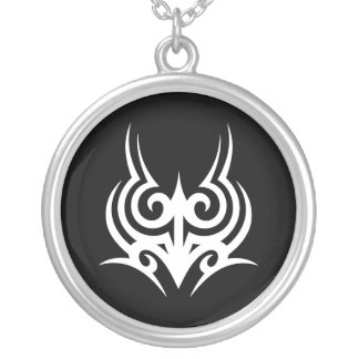 Templatki tribal 2 test silver plated necklace