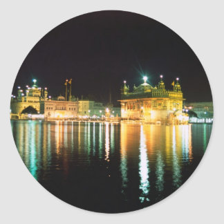 Temple Amritsar India applied Classic Round Sticker