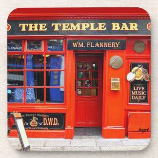 Temple Bar, Dublin, Ireland, Irish Pub Coasters