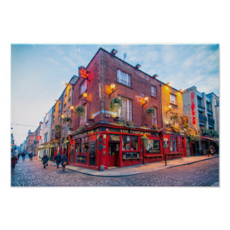 Temple Bar / Dublin Poster