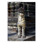 Temple Dragon Greeting Cards