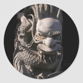 Temple Dragon Stickers