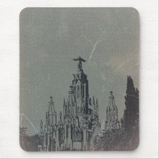 Temple Expiatori Mouse Pad
