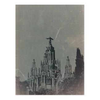 Temple Expiatori Postcard