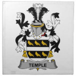 Temple Family Crest Napkin