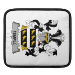Temple Family Crest Sleeves For iPads