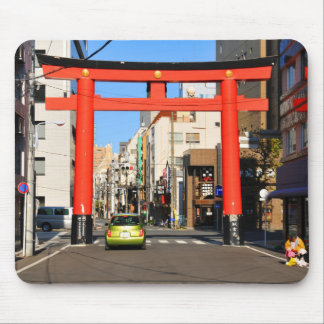 Temple gate in Tokyo, Japan Mouse Pad