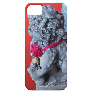 Temple guardian dogs, Singapore iPhone 5 Covers