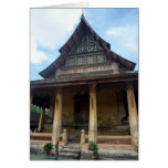 temple haw phra greeting card