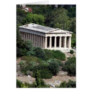 temple hephaestus card