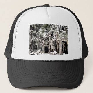 TEMPLE IN ANGKOR TEMPLE AT ANGKOR TRUCKER HAT