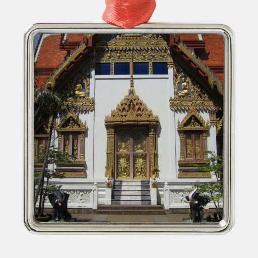 Christmas Tree Manufacturer Thailand : Temple in thailand christmas ornaments zazzle