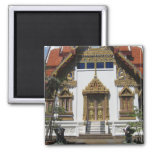 Temple In Thailand Magnet