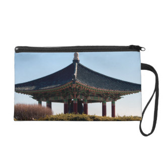 temple in the distance wristlet