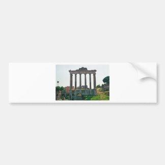 Temple in the Roman Forum Bumper Sticker