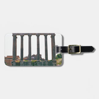 Temple in the Roman Forum Luggage Tags