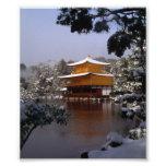 Temple in Winter Art Photo