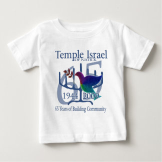 Temple Israel of Natick 65 years Baby T-Shirt