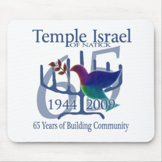 Temple Israel of Natick 65 years Mouse Pad