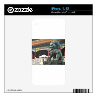 Temple Lion Decals For The iPhone 4