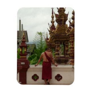 Temple Monk Magnet