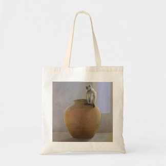 Temple Monkey Tote Bag