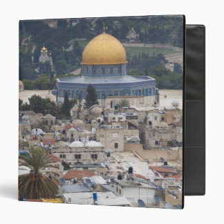 Temple Mount and Dome of the Rock 3 Ring Binders