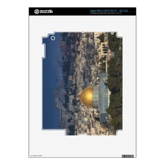 Temple Mount and Dome of the Rock, dawn iPad 3 Skin
