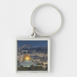 Temple Mount and Dome of the Rock, dawn Keychain