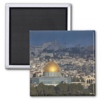 Temple Mount and Dome of the Rock, dawn Magnet