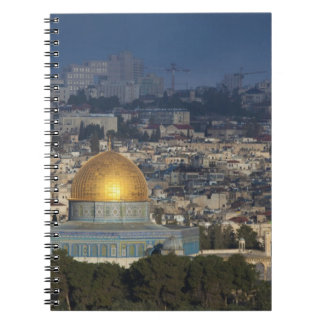 Temple Mount and Dome of the Rock, dawn Notebook