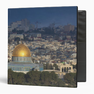 Temple Mount and Dome of the Rock, dawn Vinyl Binders