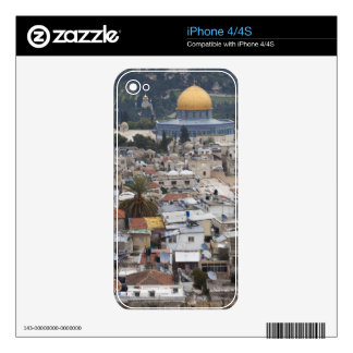 Temple Mount and Dome of the Rock Decal For The iPhone 4