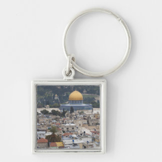Temple Mount and Dome of the Rock Keychain