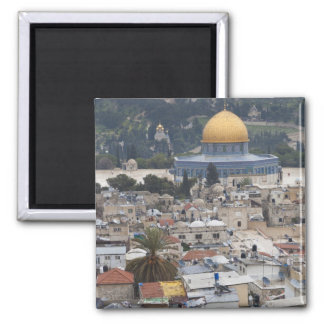 Temple Mount and Dome of the Rock Magnet