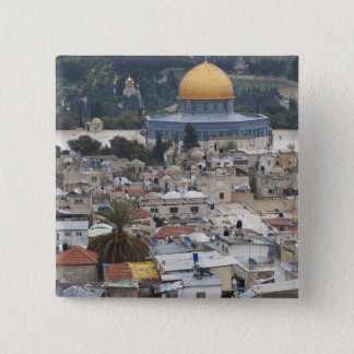 Temple Mount and Dome of the Rock Pinback Button