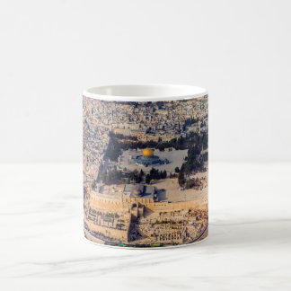 Temple Mount Old City Jerusalem Dome of the Rock Classic White Coffee Mug