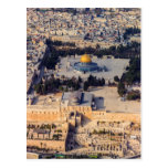 Temple Mount Old City Jerusalem Dome of the Rock Postcard